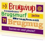 Coachingskaarten - Brugmug of brugwup