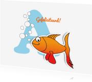 Geslaagd kaarten - Bubble Fish - JD
