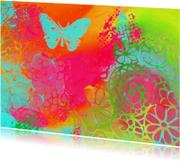Kunstkaarten - Butterflyspirals