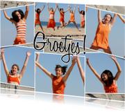 Ansichtkaarten - Collage Groetjes! - BK