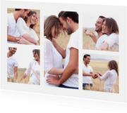 Trouwkaarten - Collage Save the Date - BK
