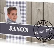 Communiekaarten - Communiekaart Jason SS