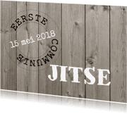 Communiekaarten - Communiekaart Jitse