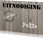 Communiekaarten - Communiekaart Pelle