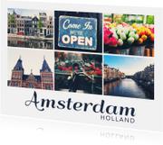 Vakantiekaarten - De groeten... Amsterdam - DH