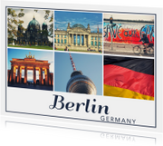 Ansichtkaarten - De groeten... Berlin - DH