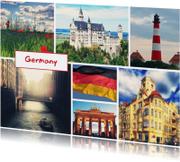 Vakantiekaarten - De groeten... Germany - DH