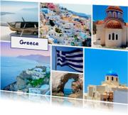 Vakantiekaarten - De groeten... Greece - DH