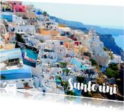 Vakantiekaarten - De groeten... Santorini - DH