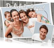 Vaderdag kaarten - De liefste Papa - BK
