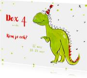 Kinderfeestjes - Feestje Dinosaurius