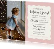 Kinderfeestjes - Feestje - meisje jarig confetti