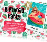 Kinderfeestjes - Feestje tiener trendy meloen