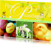 Paaskaarten - Fijne Paasdagen met naam