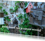 Felicitatiekaarten - Fotokaart huisjes av