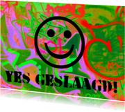 Geslaagd kaarten - Geslaagd graffiti IW
