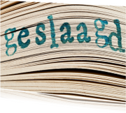 Geslaagd kaarten - GESLAAGD op boek