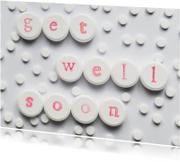 Beterschapskaarten - GET WELL SOON op pillen