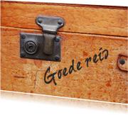 Vakantiekaarten - Goede reis Koffer