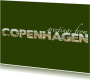 Vakantiekaarten - Greetings from Copenhagen