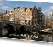 Vakantiekaarten - Groeten uit Amsterdam 1