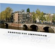 Ansichtkaarten - Groeten uit Amsterdam origineel