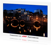 Ansichtkaarten - Groeten uit Amsterdam VI
