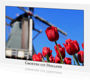 Ansichtkaarten - Groeten uit Holland L