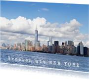 Vakantiekaarten - Groeten uit New York, Amerika