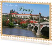 Vakantiekaarten - Groeten uit Praag