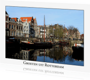 Ansichtkaarten - Groeten uit Rotterdam IX