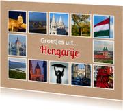 Groetjes uit Hongarije - DH