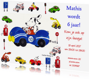 Kinderfeestjes - Jongens Feestje Auto Cartita Design
