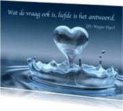 Spreukenkaarten - Kaart met spreuk liefde