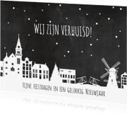 Kerstkaarten - Kerst verhuiskaart holland av
