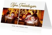 Kerstkaarten - Kerstkaart collage feestdagen 2018