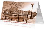 Kerstkaarten - KerstkaartAmsterdam Frosen Canal