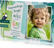 Kinderfeestjes - Kinderfeestje Jungle Tropics Boy
