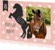 Kinderfeestjes - Kinderfeestje paard krijtbord
