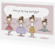 Kinderfeestjes - Kinderfeestje partijtje Ballerina