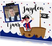 Kinderfeestjes - Kinderfeestje piraten confetti foto