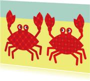 Dierenkaarten - krabbendans