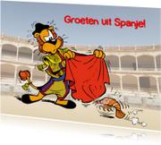 Vakantiekaarten - Loeki de Leeuw in Spanje