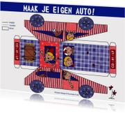 Kinderkaarten - Maak je eigen auto Jongen Cartita Design