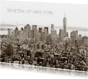 Vakantiekaarten - Manhattan