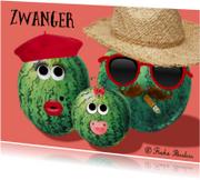 Felicitatiekaarten - melon family