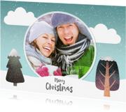 Kerstkaarten - Merry christmas winter - SU