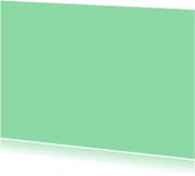 Blanco kaarten - Mint enkel liggend