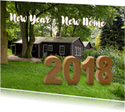 Kerstkaarten - New Year New Home 2018 - OT