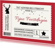Nieuwjaarskaarten - nieuwjaars kaart ticket rood av